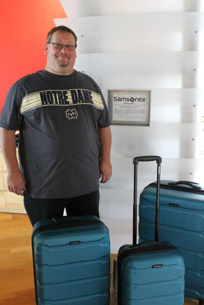 Samsonite Luggage Winner