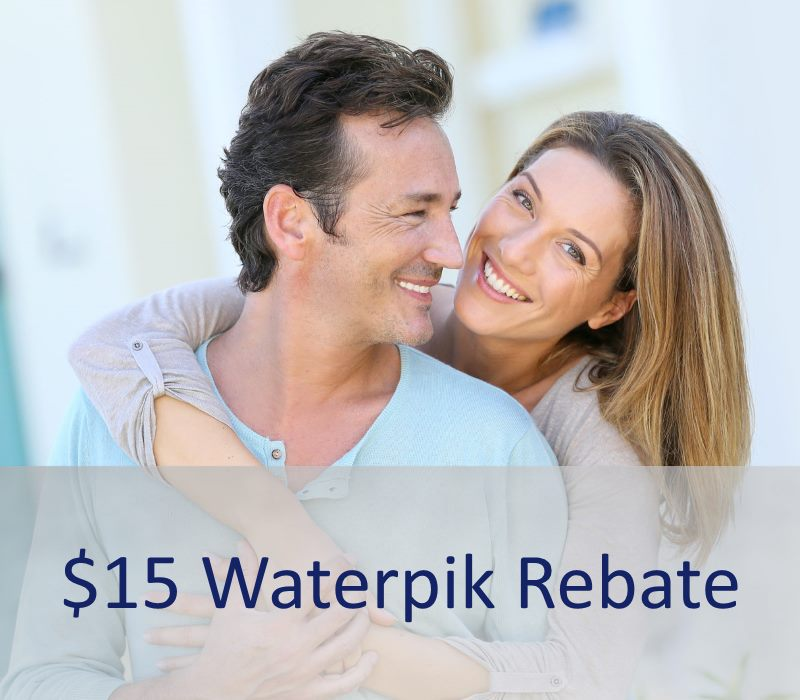 Waterpik Rebate